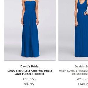 David's Bridal Dress sz 12